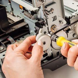 Ремонт принтера hp